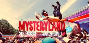 Mysteryland Banner 24 august augustus 2013 ID&T Dancefreax Flyer Banner Logo